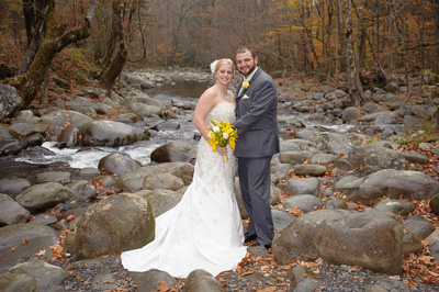 romantic Smoky Mountain Elopement