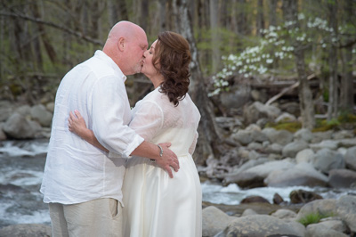 Wedding in the Smoky Mountains, Tennessee