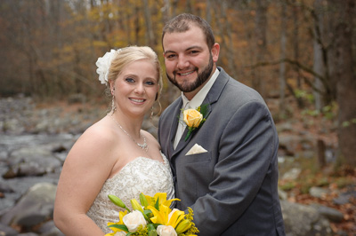 Gatlinburg elopement in the Smoky Mountains