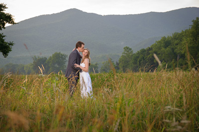 Wedding in Cades Cove