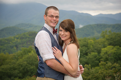 elopement in Gatlinburg, Tennessee