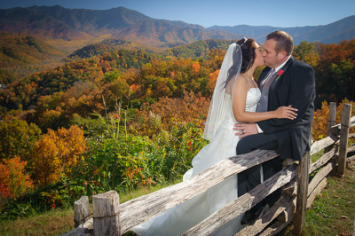 Outdoor Wedding in Gatlinburg