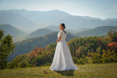 Wedding venue in gatlinburg, Tennessee