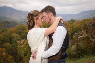 Simple Gatlinburg elopement