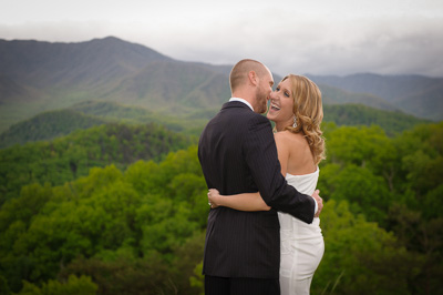 Gatlinburg groom wedding